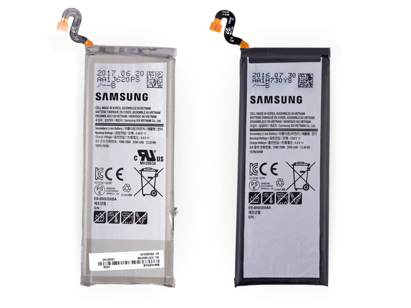 Galaxy Note Fan Edition im iFixIt-Teardown