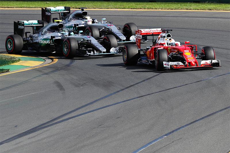 The 2016 Australian F1 Grand Prix.