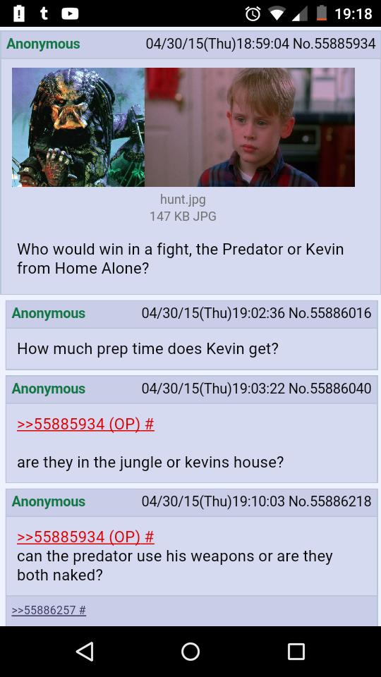 Funny, Kevin From Home Alone Vs Predator