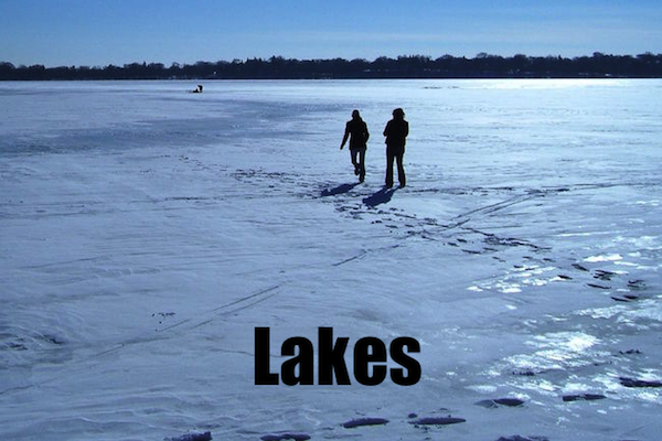 50 words for 50 states, minnesota lakes