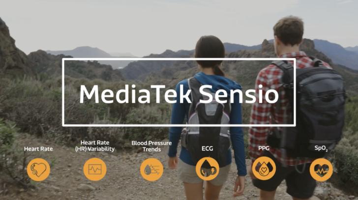 MediaTek Sensio: Neues Sensor-Modul will Smartphone Gesundheits-Funktionen aufbohren