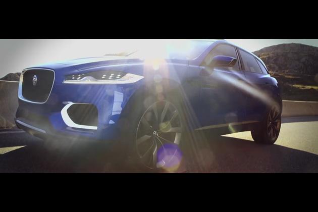 【ビデオ】ジャガー、新型クロスオーバーSUV「F-Pace」のティーザー映像を公開