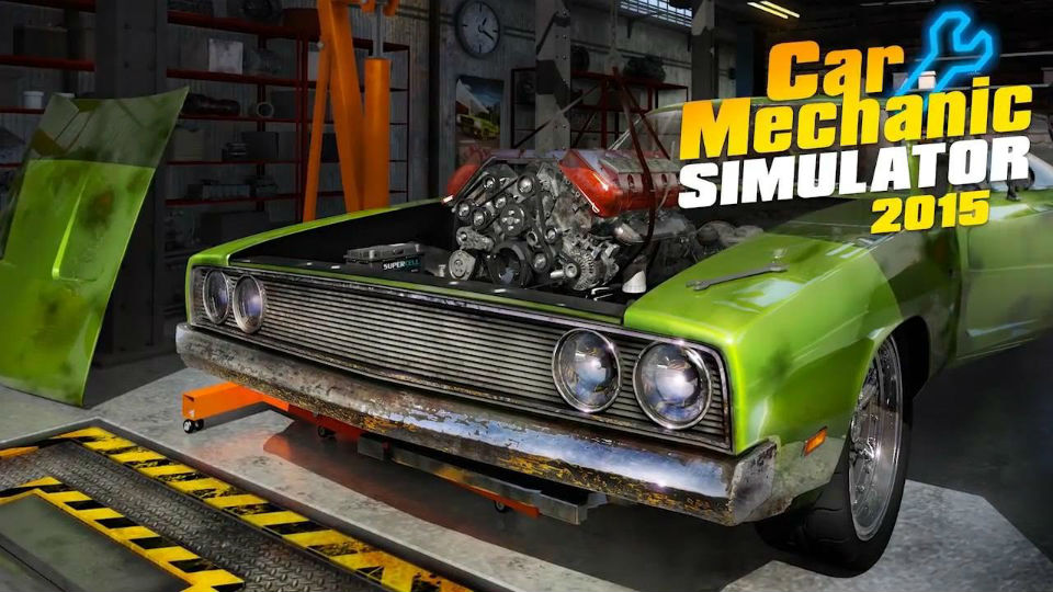 JXE Streams: A real bodyman tackles 'Car Mechanic Simulator 2015'