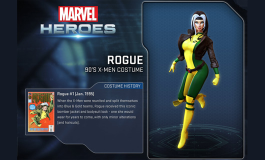 Get a glimpse of Rogue in Marvel Heroes' video preview