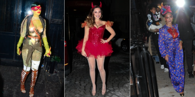 Halloween costumes 2014: Kelly Brook v Beyonce v Rihanna