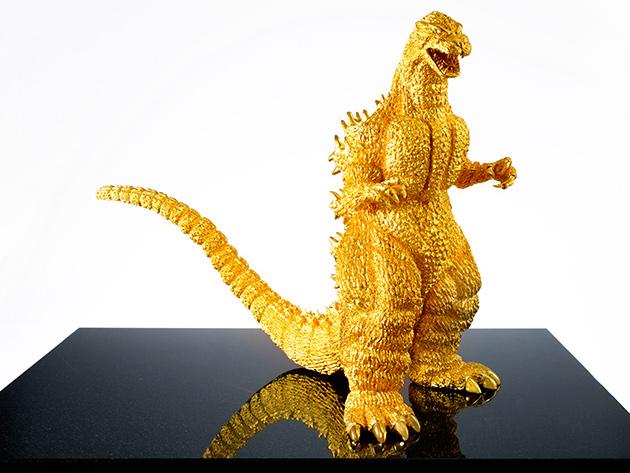 Happy Birthday Monster: Godzilla aus 15 Kilo Gold für 1 Mio. Euro
