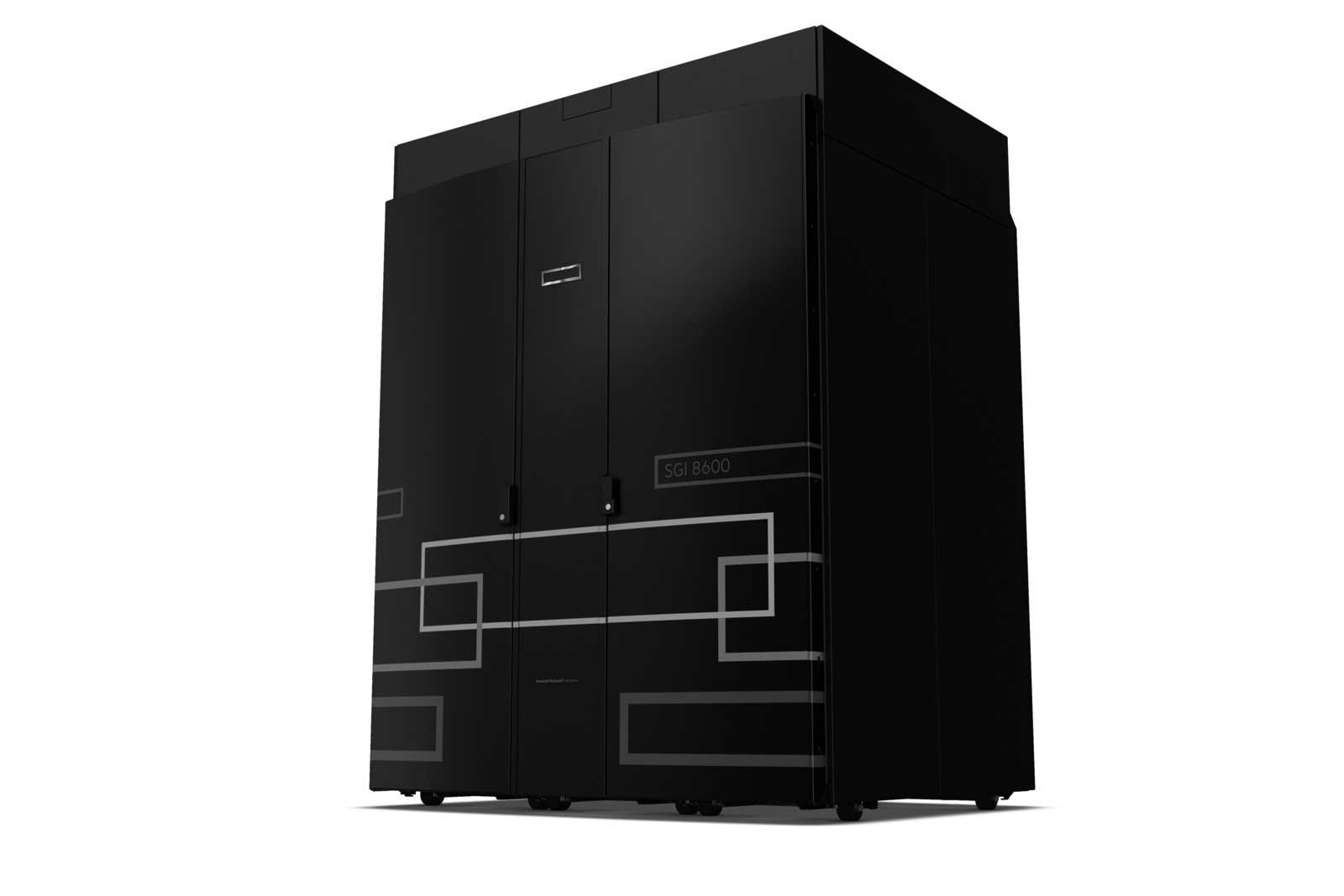 photo image HPE supercomputer will help simulate mammalian brains