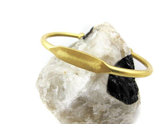 Brooklyn Charm engraveable bangle bracelet for Valentine's Day