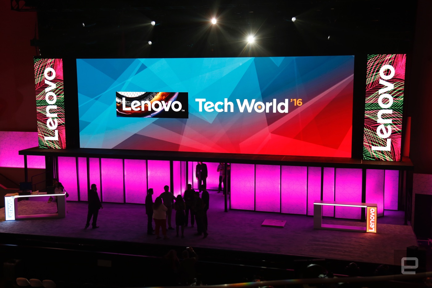 We're live from Lenovo Tech World 2016!