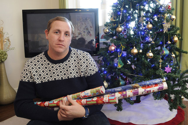 dad charged £60000 for wrapping paper