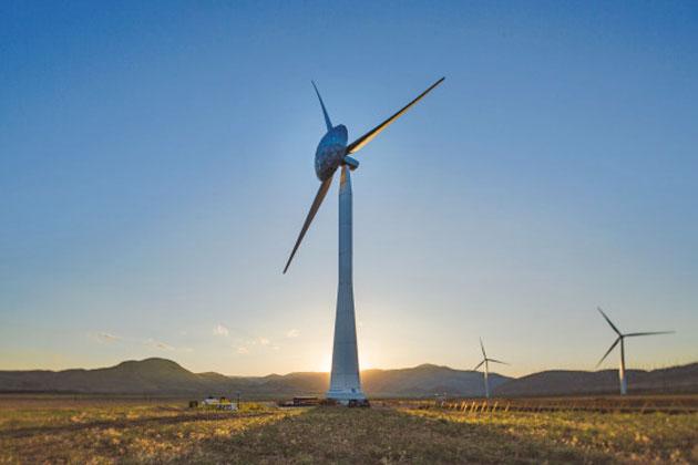 GE's ecoROTR wind turbine