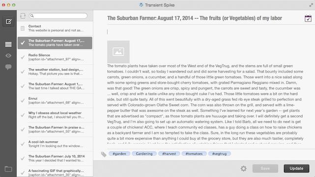 Blogo WordPress blogging tool for OS X