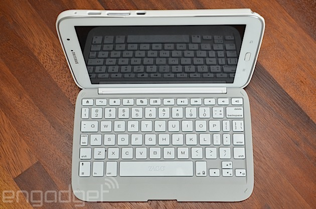 ZAGG Folio keyboard case Samsung Galaxy Note 8.0