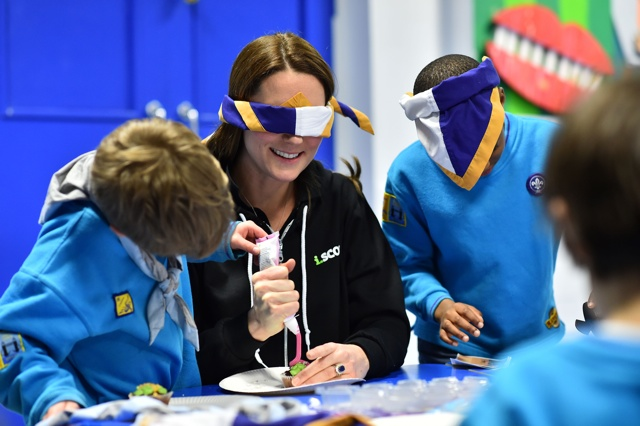 Kate Middleton swaps dazzling dresses for high street hoodie