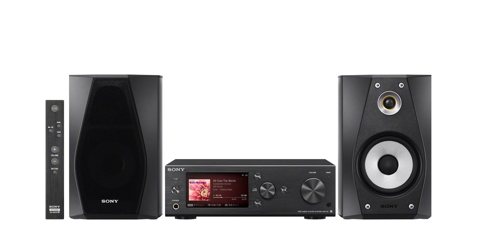 Sony HD Audio Components