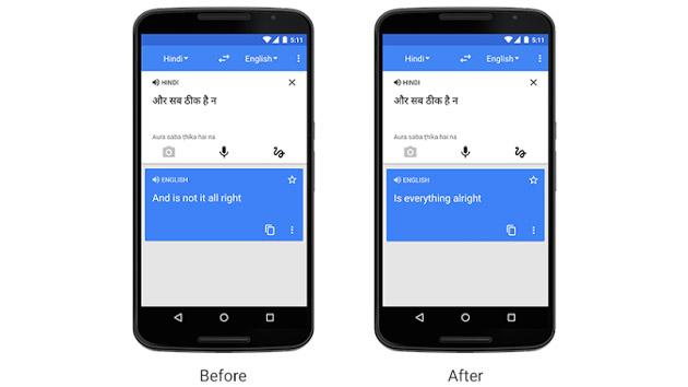 Google Translate gets more conversational