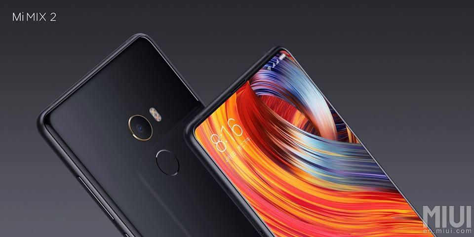 Xiaomi vuelve a presumir de pantalla infinita con el Mi MIX 2