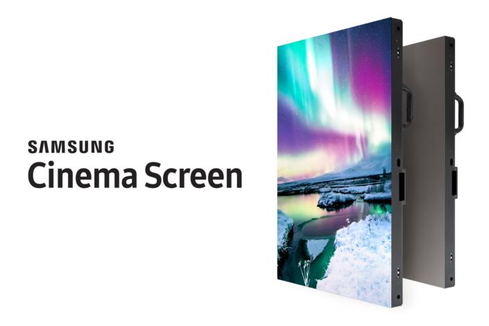 Samsung quiere revolucionar los cines con una pantalla 4K LED gigante
