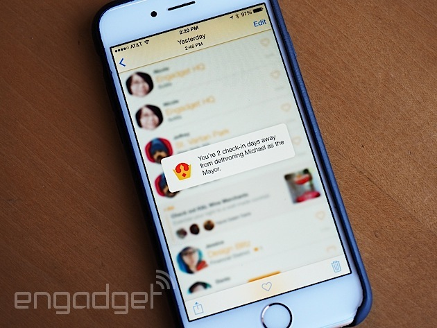 Foursquare and Swarm: Breaking up is never easy