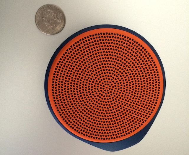 Top View: Logitech X100 Mobile Wireless Speaker