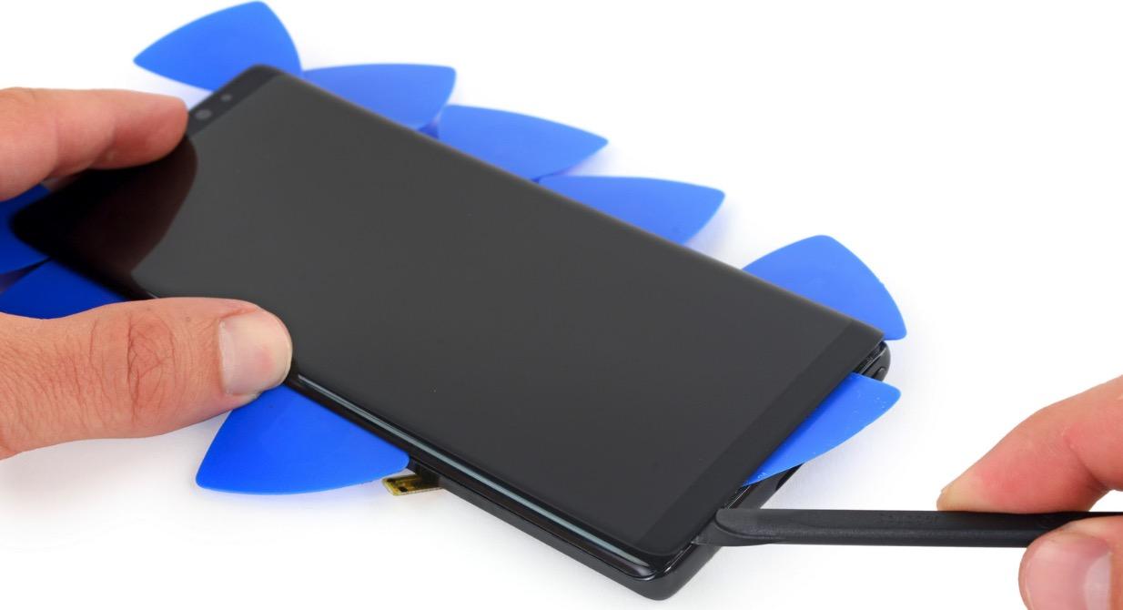 Galaxy Note 8: Lässt Schraubern wenigstens eine Chance