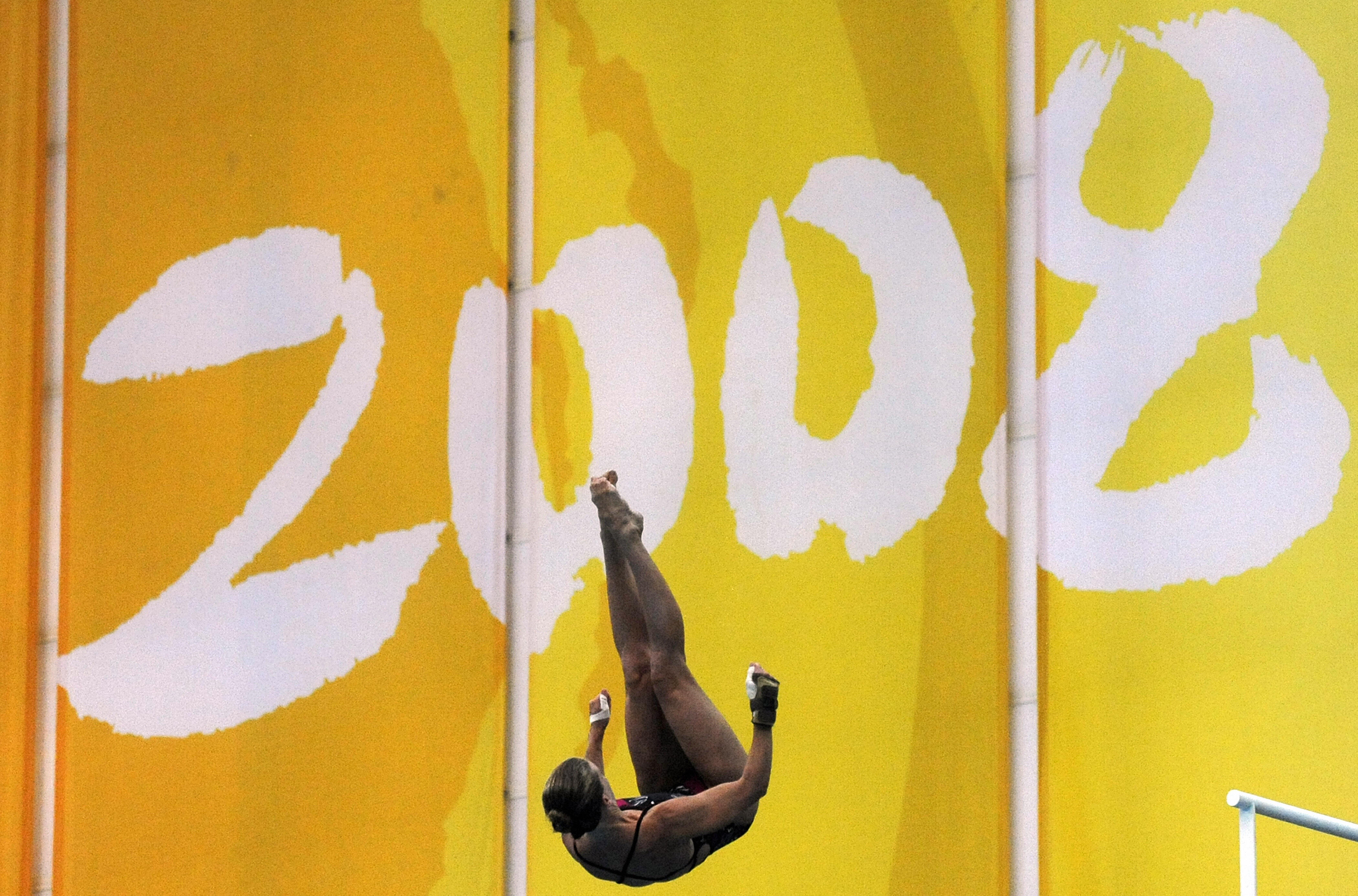 US diver Laura Wilkinson of the US dives