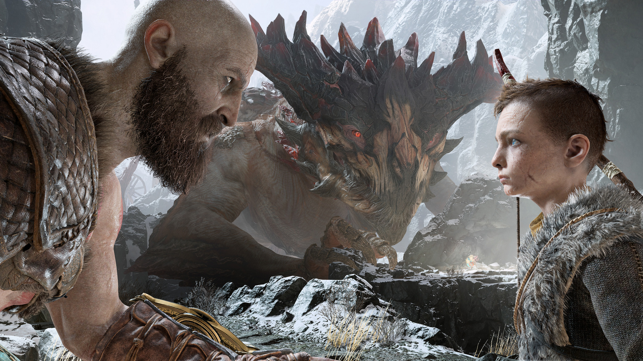 The 'God of War' reboot comes to the PS4 on April 20th