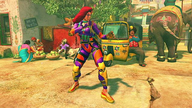 Street Fighter Fashion Show: showing off dat new DLC