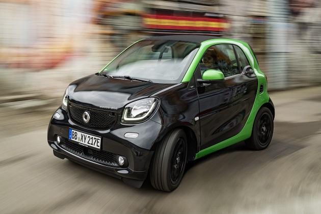 スマート、航続距離もパワーも向上した新型「エレクトリックドライブ」を発表