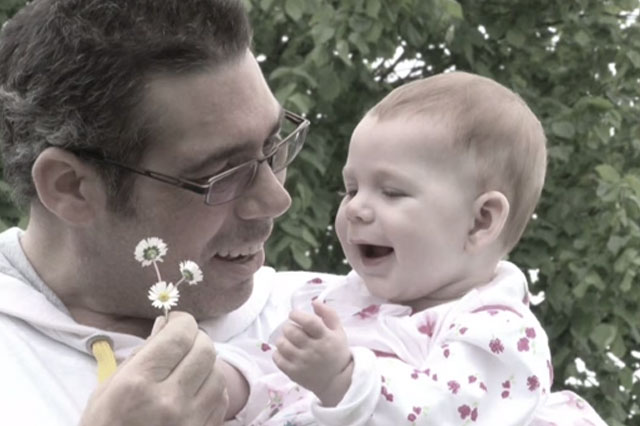 Dad Rocky music video for baby daughter