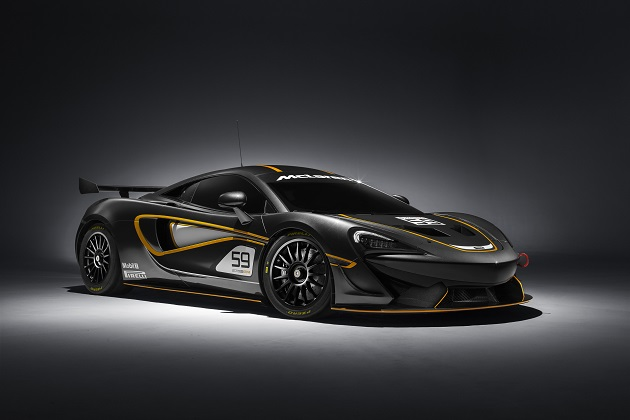 マクラーレン、レース仕様の「570S GT4」を発表
