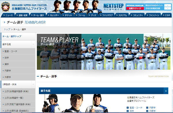 プロ野球未経験でもOK?北海道日本ハムファイターズが球団職員、新卒をサイト上で募集!