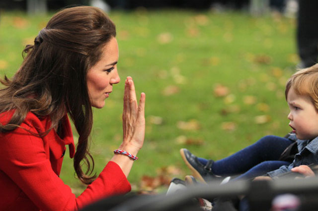 loom band on duchess of cambridge