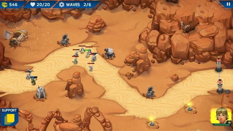 Get some insight into Star Wars: Galactic Defense with this developer diary