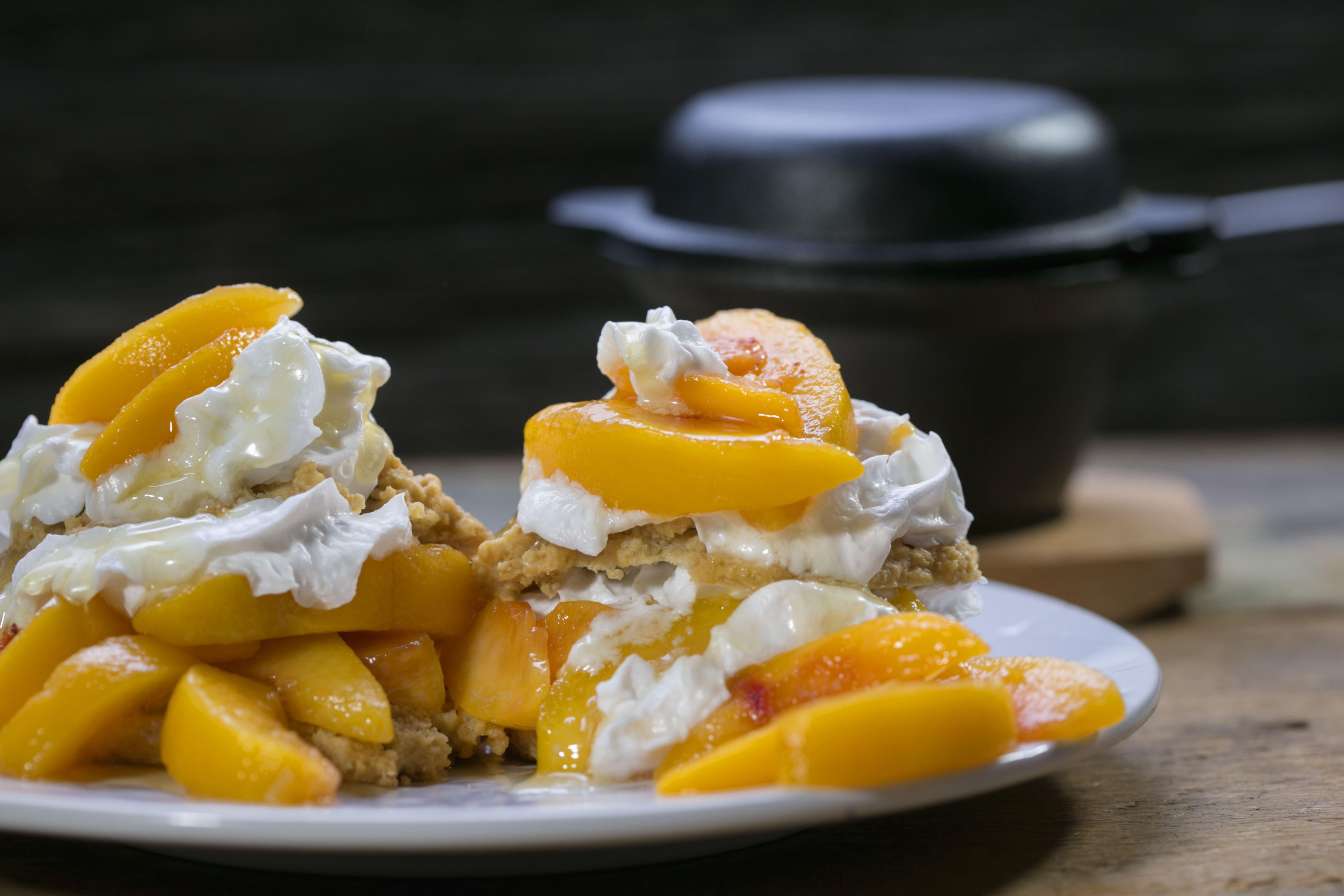 Decadent Gluten-Free Peach Shortcake With Coconut Whipped ...