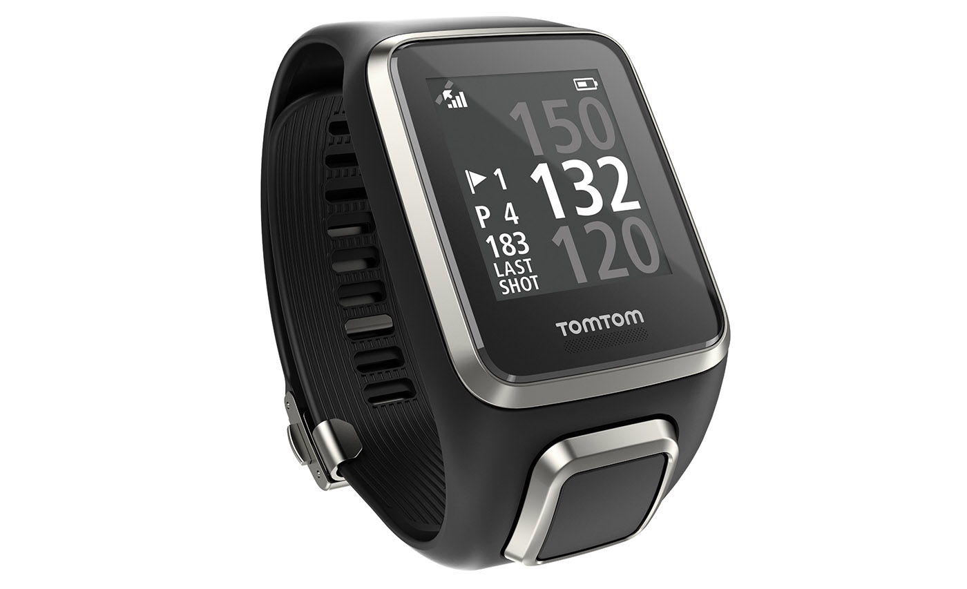 TomTom's Golfer 2 GPS watch tracks your swing