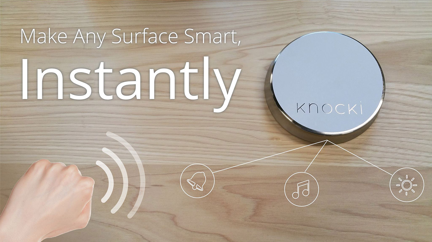 Device that makes surfaces smart reaches funding in an hour