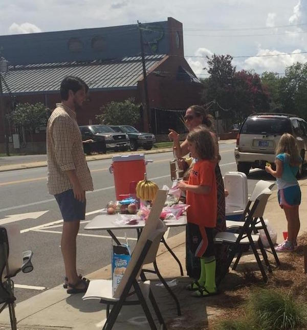 Lemonade Stand with a twist