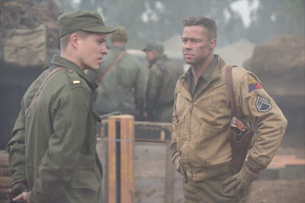 たたずむブラピ画像公開!話題の戦争映画『フューリー』がこだわった3つのリアリティとは