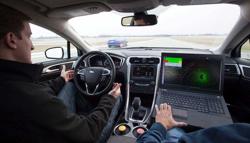 Ford gets serious with self-driving and 3D printing tech