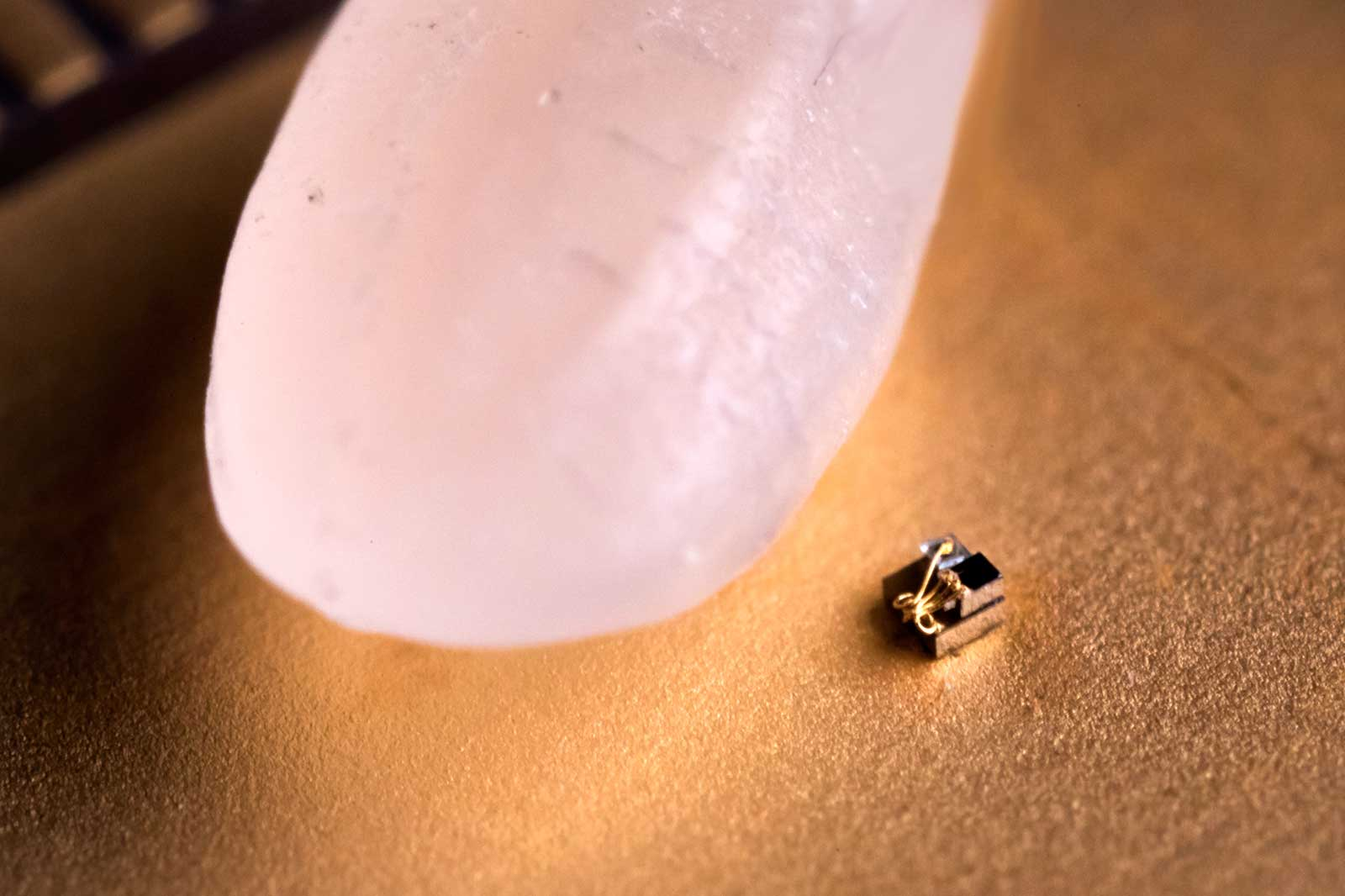World's tiniest 'computer' makes a grain of rice seem massive
