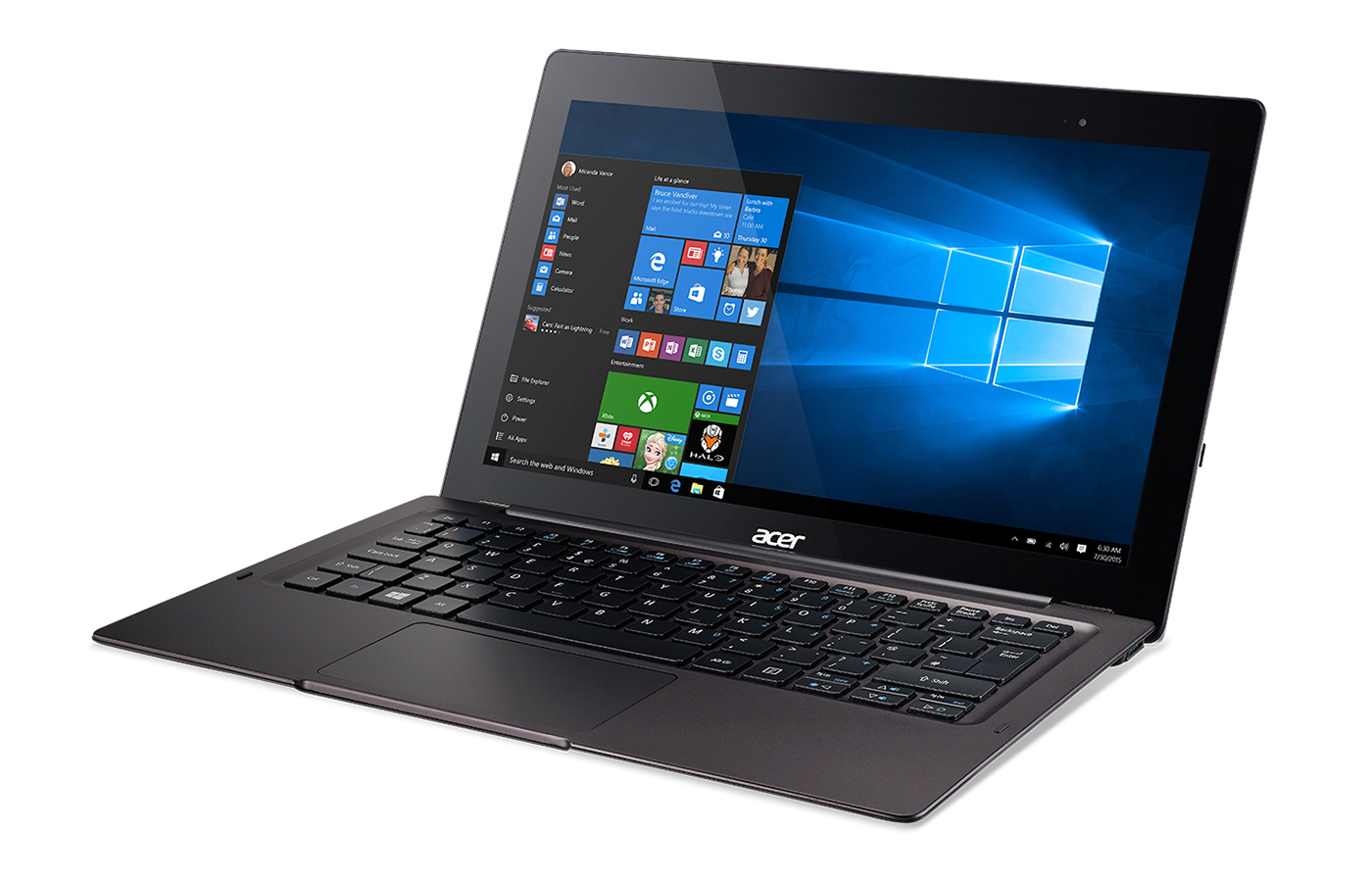 Acers Aspire Switch 12 S A Convertible Laptop With USB