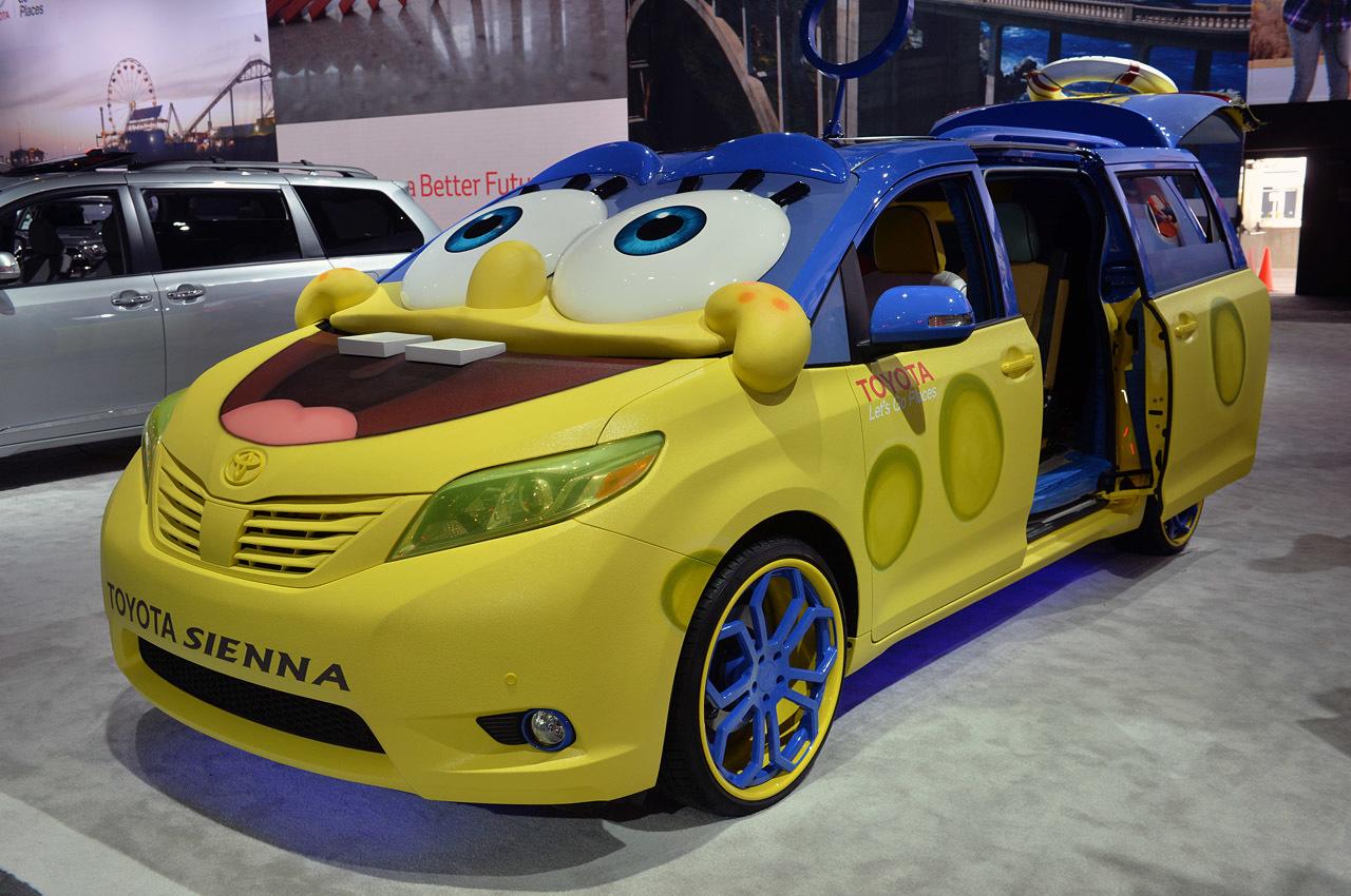 Toyota Sienna Sponge Bob