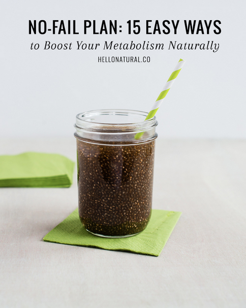 Hello Natural, faster metabolism, boost your metabolism