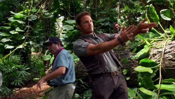 『ジュラシック・ワールド』スタント撮影中の主演クリス・プラットがバカすぎるwww