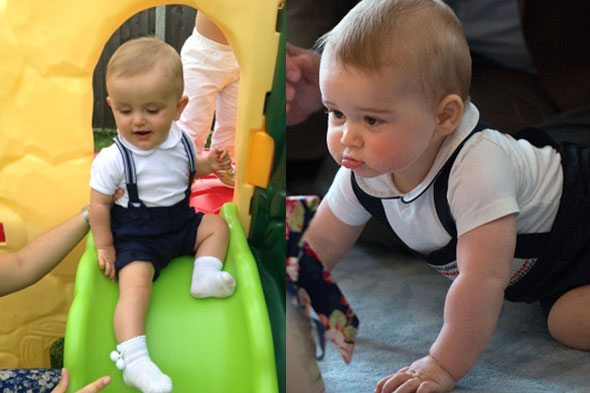 prince george lookalike