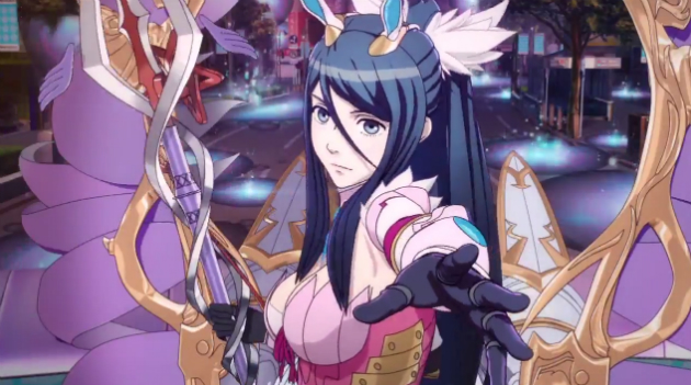 A peppy, neon look at 'Shin Megami Tensei x Fire Emblem' for Wii U