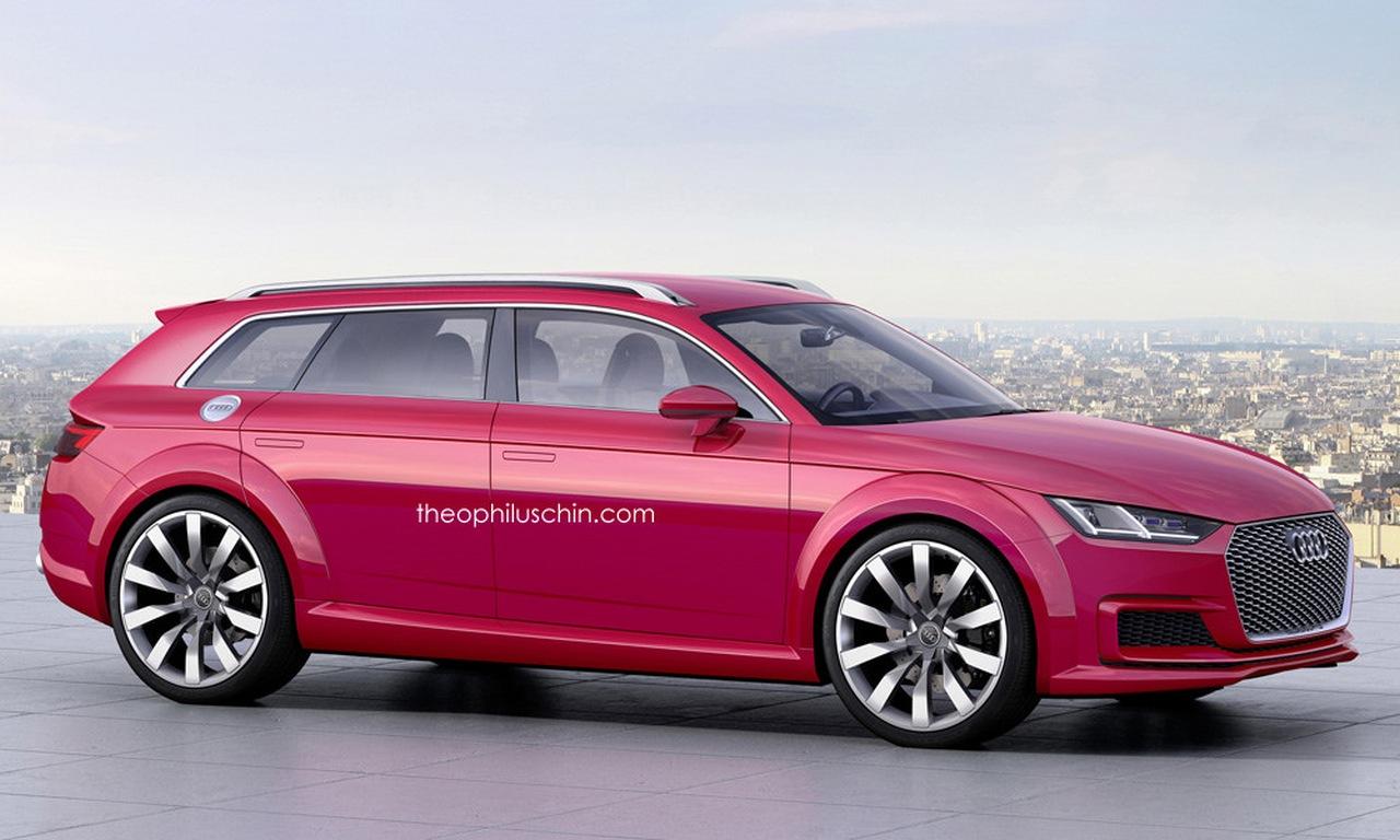 Erste Bilder: Audi TT Avant