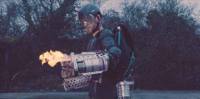 Real Iron Man: Brite entwickelt funktionierenden Raketen-Anzug