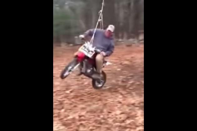 【ビデオ】とても公園には置けない危険なブランコ